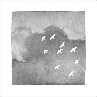 White Pigeons card